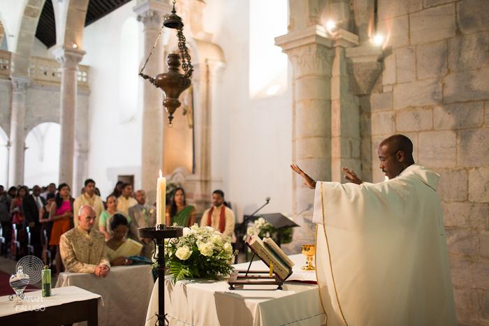Catholic wedding ceremony Lisbon